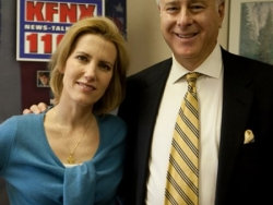 Dennis Wilenchik with radio personality Laura Ingraham